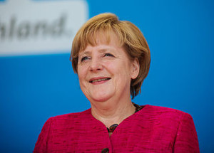 Chancellor Angela Merkel. Photo by: Alexander Kurz